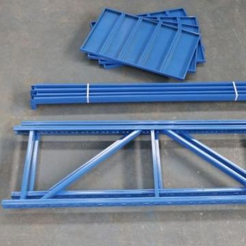 Movable Industrial Steel Wire Storagre Racking Shelving with Wheels