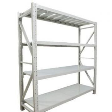 Custom Industrial Warehouse Storage Rack OEM Heavy Duty Chrome Wire Mesh Long Span Metallic Shelving