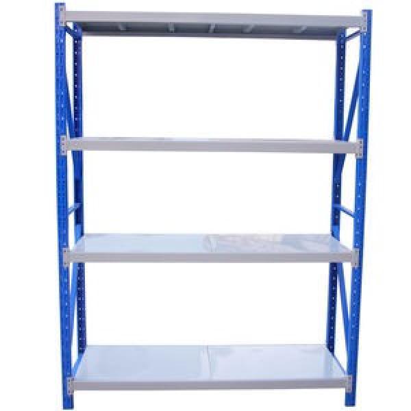 Adjustable 4 Tiers Commercial Heavy Duty Steel Warehouse Cargo Storage Wire Rack Shelf